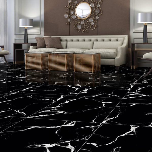 Black marble pŁytka 60x60 gat.1