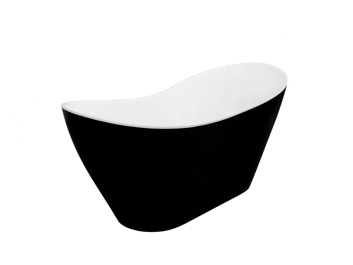 Wanna wolnostojĄca viya black&white – besco